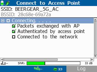 Отчёт Тестер беспроводных сетей Wi-Fi, Fluke AirCheck Wi-Fi Tester NETSCOUT AIRCHECK