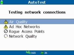 AutoTest Тестер беспроводных сетей Wi-Fi, Fluke AirCheck Wi-Fi Tester NETSCOUT AIRCHECK