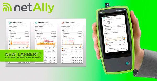 Анализаторы NetAlly получили возможность квалификации скорости Ethernet до 10 Гбит/с