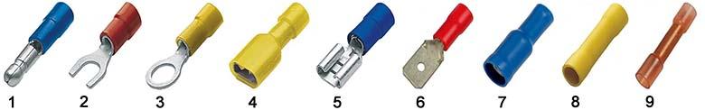 Трубчатые изолированные кабельные наконечники под опрессовку