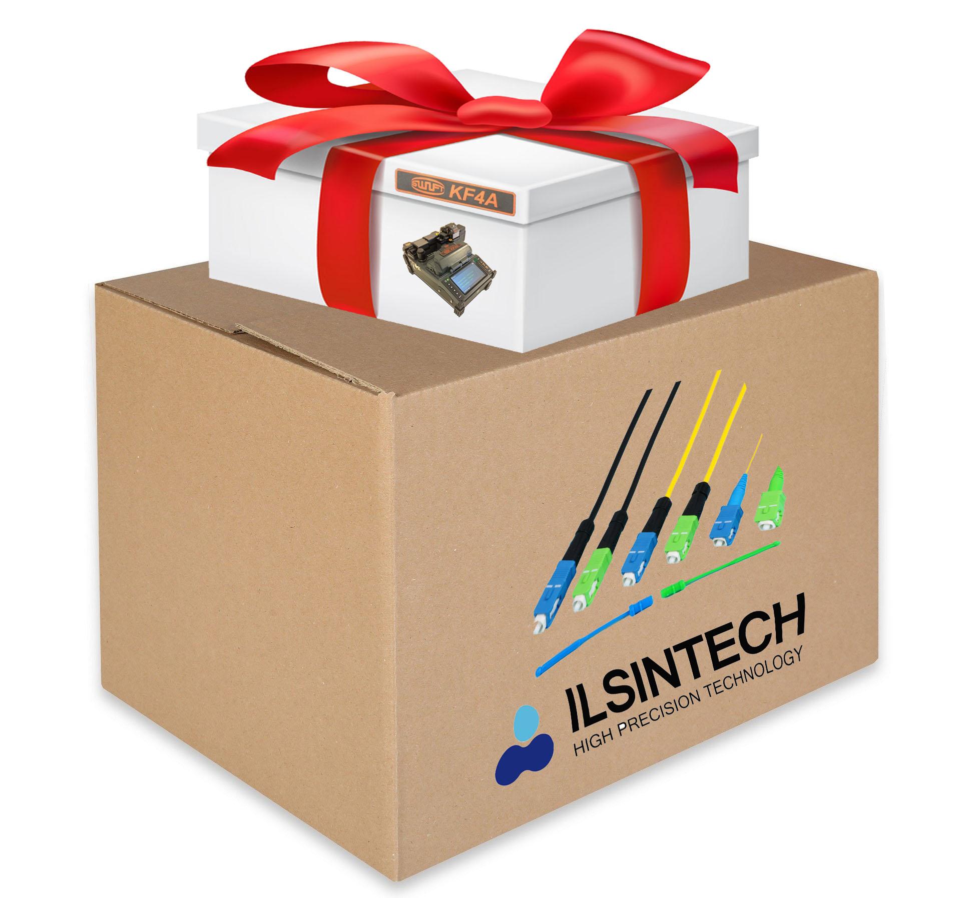 Splice-On коннекторов любого типа и получите сварочный аппарат Ilsintech KF4A в подарок