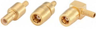 Обжимные коаксиальные коннекторы типа SMB
