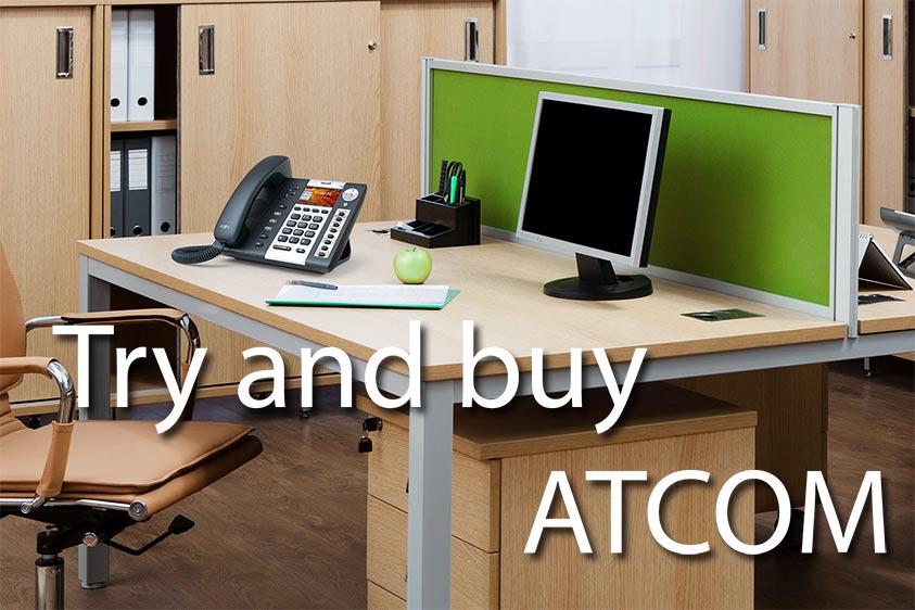 Протестируйте IP-телефоны ATCOM бесплатно в своём офисе