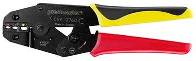 Инструменты для обжима трубчатых изолированных кабельных наконечников