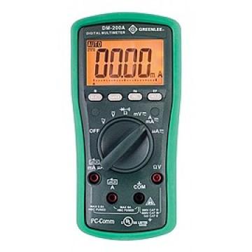 Greenlee DM-210A - профессиональный цифровой мультиметр