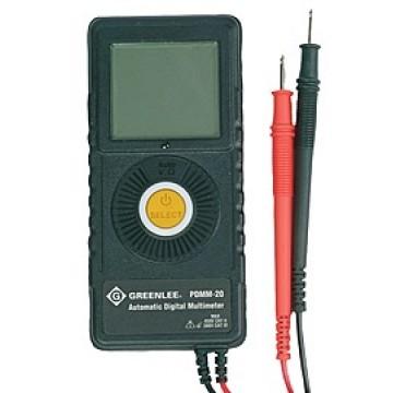 Greenlee PDMM-20 - карманный цифровой мультиметр