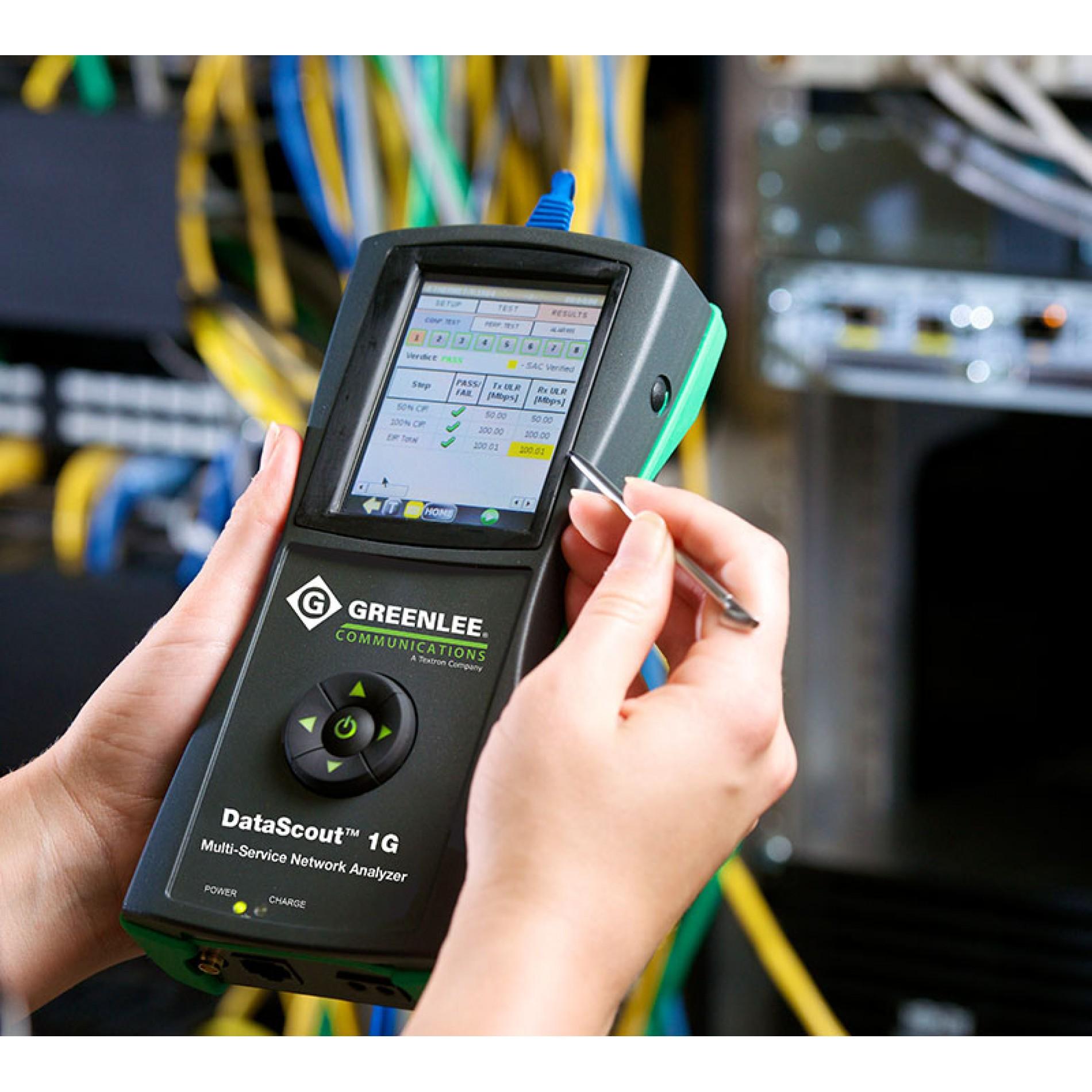 Мультисервисный анализатор DataScout 1G со скидкой до 33%!