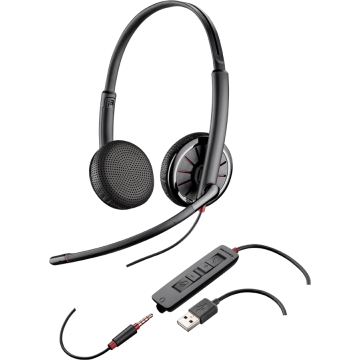 Plantronics BlackWire C325.1-M - гарнитура USB/jac...