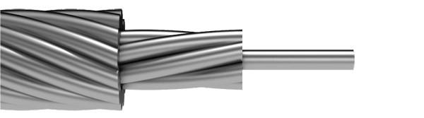ZANDZ ZZ-204-001 - трос грозозащитный стальной оцинкованный (50 мм2)