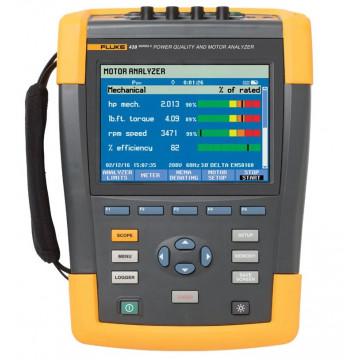 Fluke 438-II/INTL - анализатор качества электроэнергии и работы электродвигателей