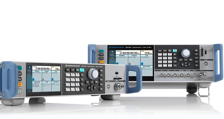 Генератор сигналов Rohde Schwarz SMA100B расширил частотный диапазон до 67 ГГц