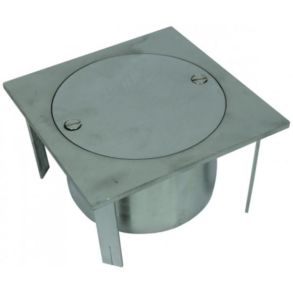 DEHN 549 091 Смотровой колодец (NIRO) для подземного монтажа тип UF, без разделительной клеммы 200x200x105 мм