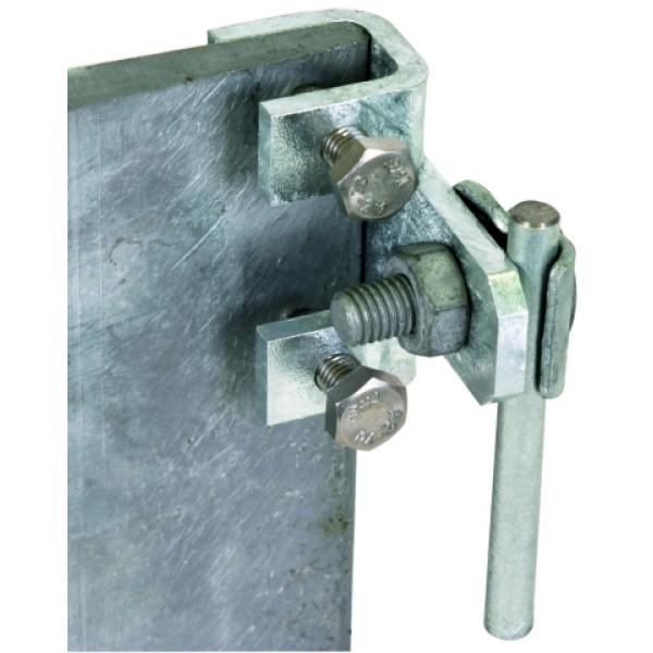DEHN 372 210 Соединительная клемма для стальных конструкций гориз.исполн. с зажимом 5-18мм Rd=6-10мм St/tZn цена, купить в СвязьКомплект