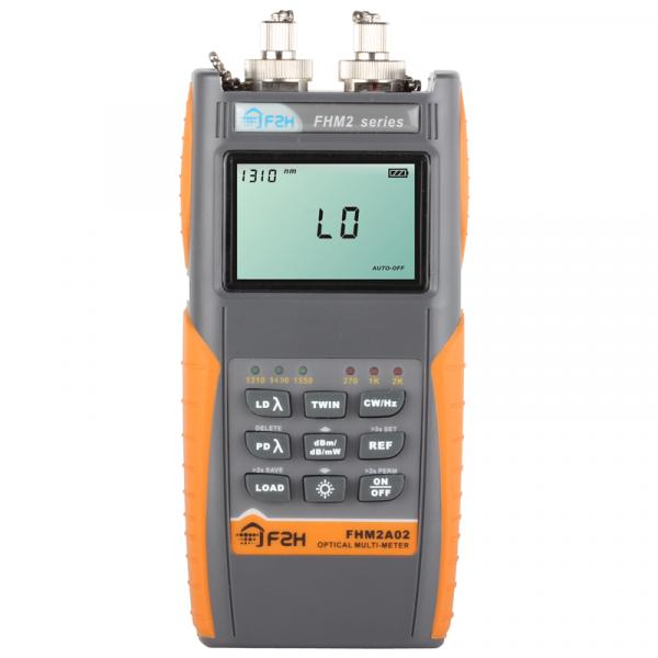 Grandway FHM2A02 - оптический тестер вносимых потерь, от -70 до +10 дБм, 1310/1490/1550 нм