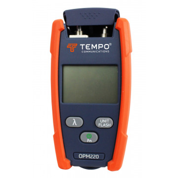Tempo OPM220 - измеритель оптической мощности с источником красного света