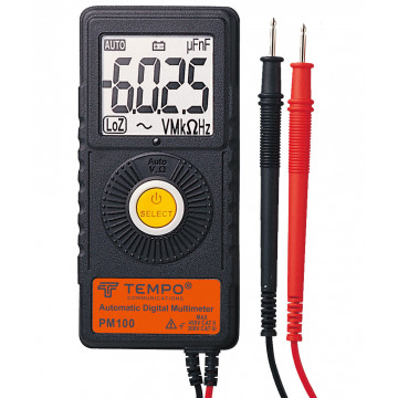 Tempo PM100 - карманный цифровой мультиметр