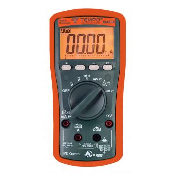 Tempo MM200 - профессиональный цифровой мультиметр