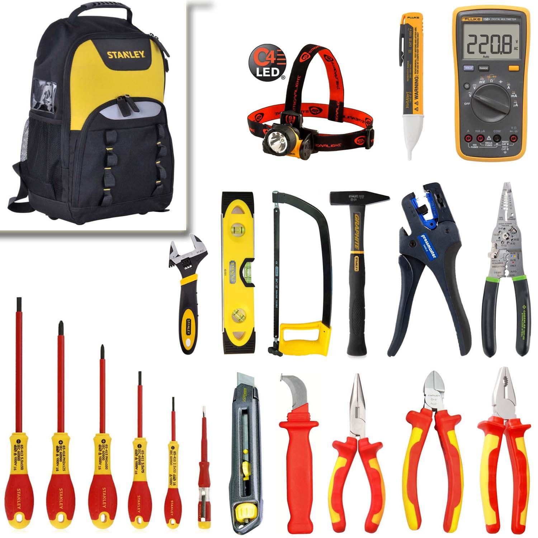 0e9ded21e183 SK-10-prof (полный) - набор изолированного инструмента для электрика ...