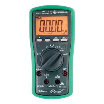 Greenlee DM-200A - профессиональный цифровой мультиметр