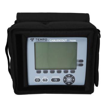 Tempo CableScout TV220 - импульсный рефлектометр для диагностики коаксиальных кабелей (CATV)