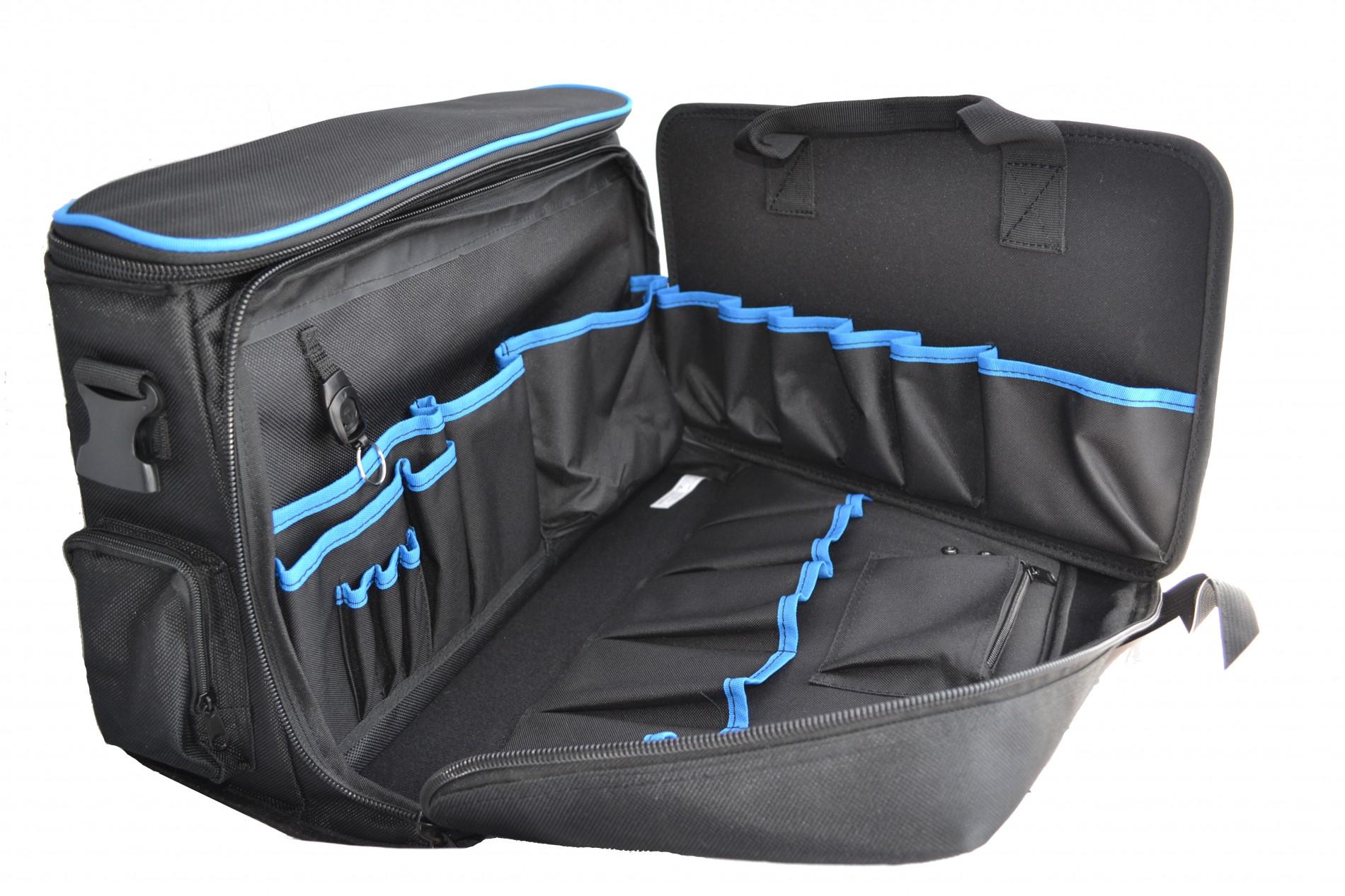 0fabb43d5aff Klauke KL905L - сумка для инструмента с паллетой, 19 карманов, 12  держателей.