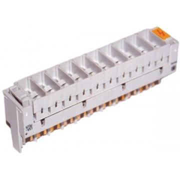 KRONE 6089 2 023-01 — магазин защиты от перенапряжений 2/10, для 10 разрядников, пустой