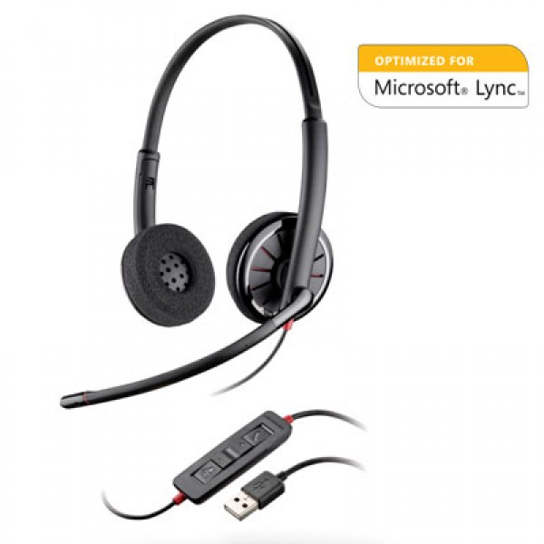Plantronics Blackwire 320M – мультимедийная гарнитура для компьютера