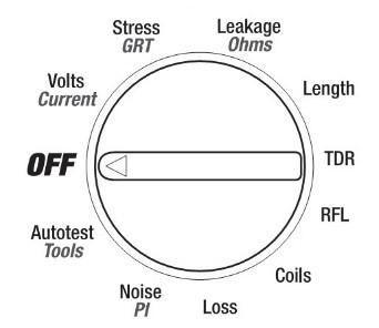 Настройка рефлектометра