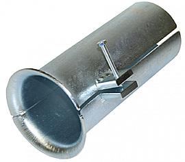 для защиты кабеля на входе в трубу канализации