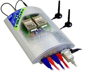 GSM шлюз 2N BRI Lite 2 GSM с двумя встроенными GSM модулями для подключения к УАТС по ISDN BRI.